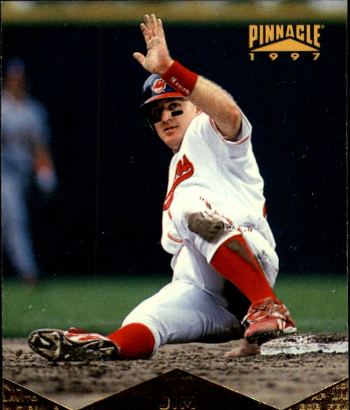 1997 Pinnacle #36 Jim Thome