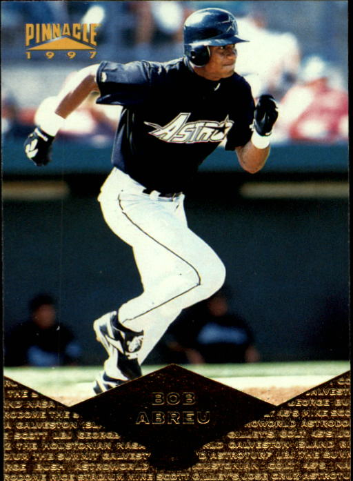 1997 Pinnacle #48 Bob Abreu