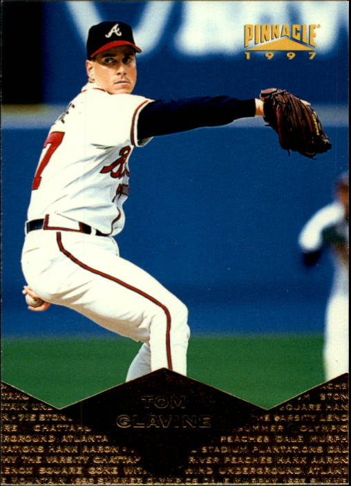 1997 Pinnacle #61 Tom Glavine