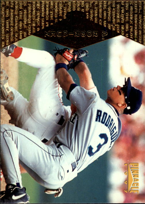 1997 Pinnacle #92 Alex Rodriguez