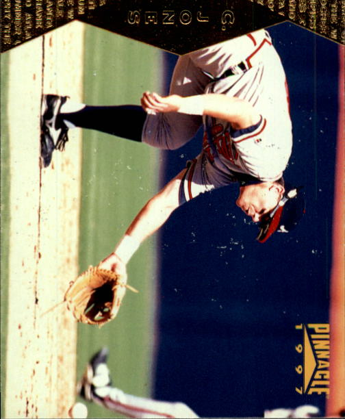 1997 Pinnacle #96 Chipper Jones