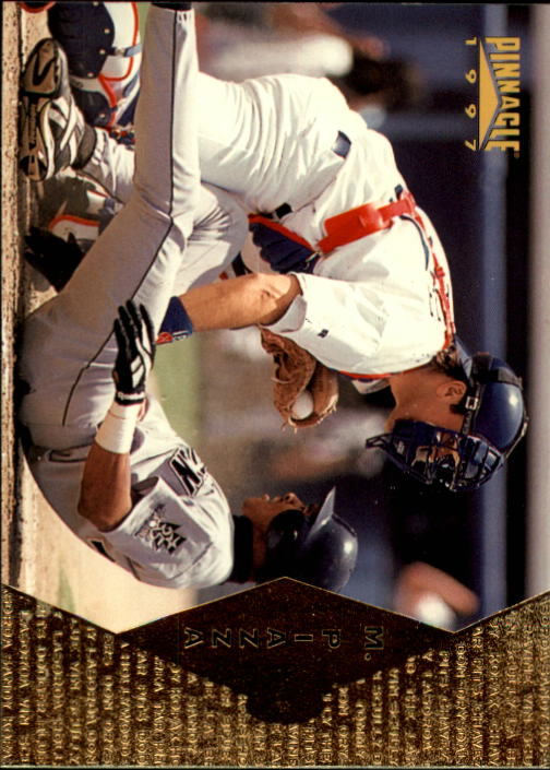 1997 Pinnacle #103 Mike Piazza