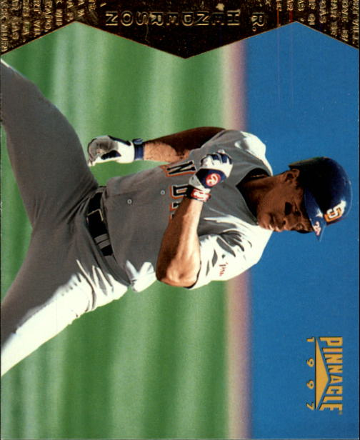 1997 Pinnacle #104 Rickey Henderson