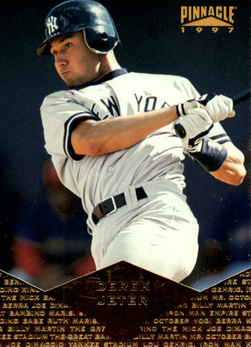 1997 Pinnacle #139 Derek Jeter
