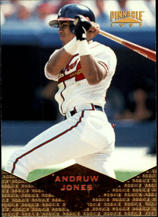 1997 Pinnacle #163 Andruw Jones