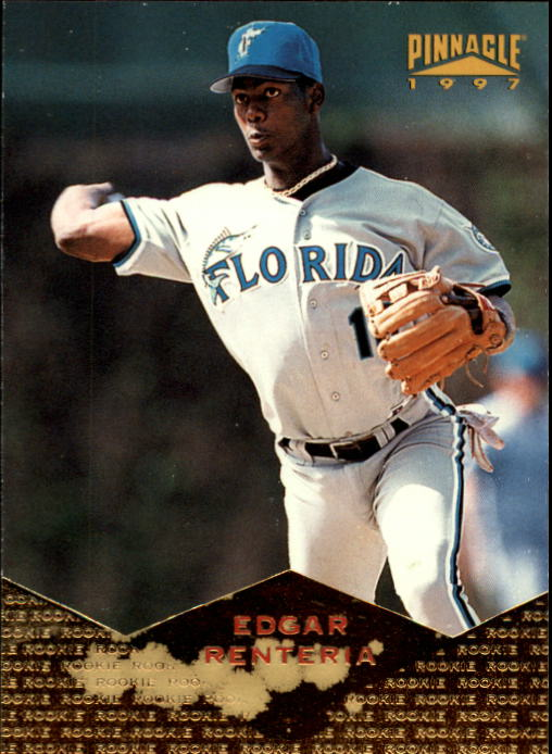 1997 Pinnacle #182 Edgar Renteria