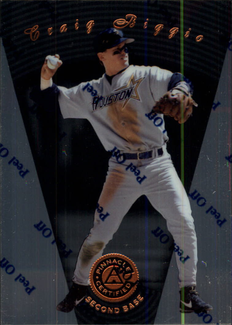 1997 Pinnacle Certified #9 Craig Biggio