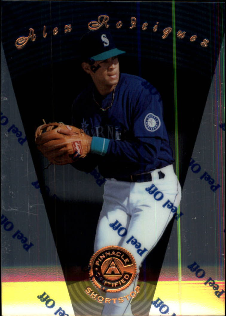 1997 Pinnacle Certified #22 Alex Rodriguez
