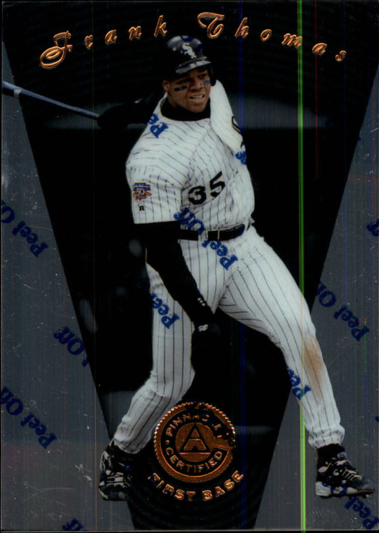 1997 Pinnacle Certified #41 Frank Thomas