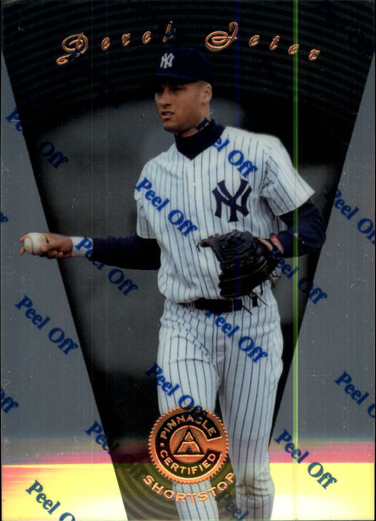 1997 Pinnacle Certified #51 Derek Jeter
