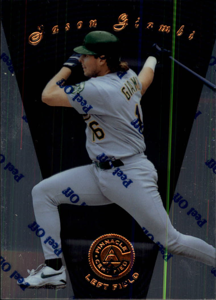 1997 Pinnacle Certified #101 Jason Giambi