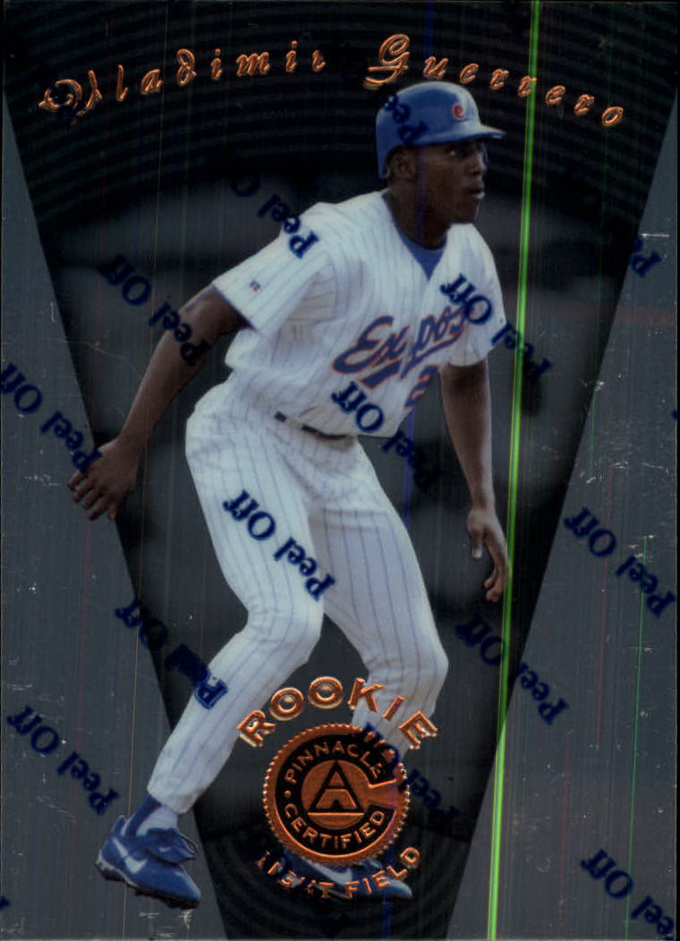 1997 Pinnacle Certified #111 Vladimir Guerrero