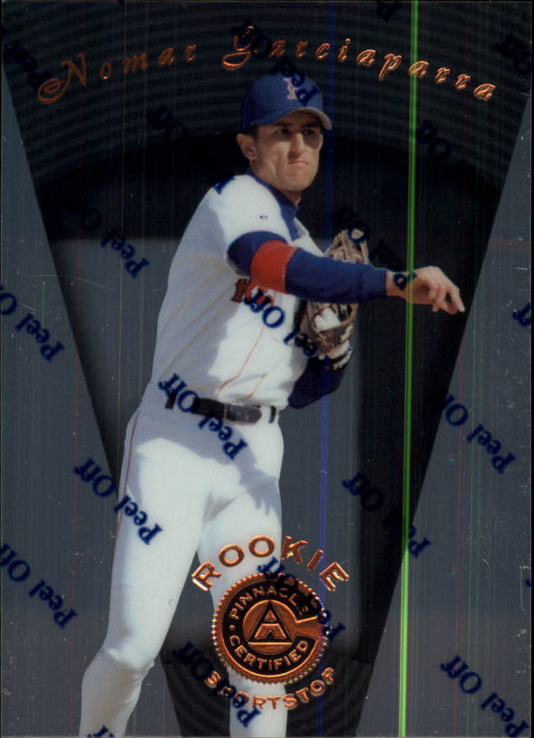 1997 Pinnacle Certified #114 Nomar Garciaparra