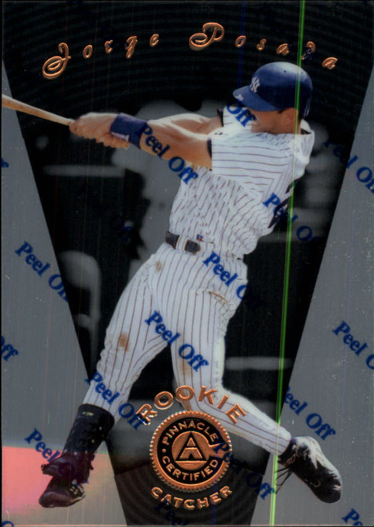 1997 Pinnacle Certified #125 Jorge Posada