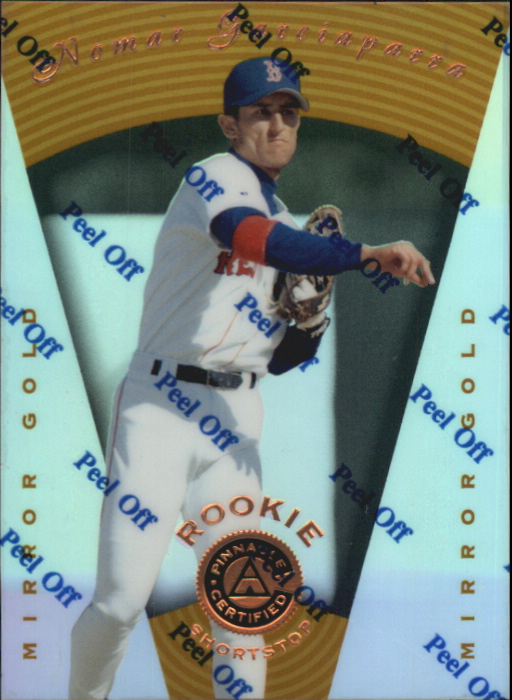 1997 Pinnacle Certified Mirror Gold #114 Nomar Garciaparra