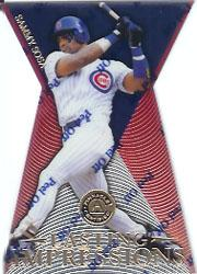 1997 Pinnacle Certified Lasting Impressions #7 Sammy Sosa