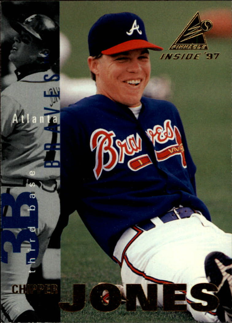 1997 Pinnacle Inside #31 Chipper Jones