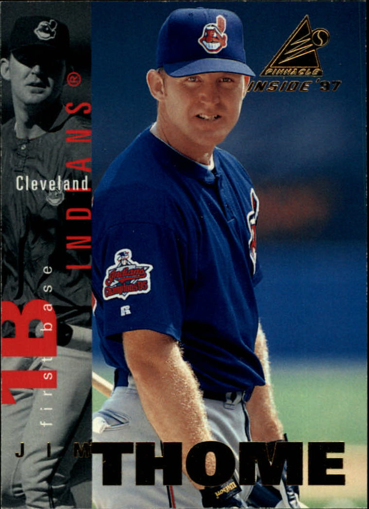1997 Pinnacle Inside #72 Jim Thome
