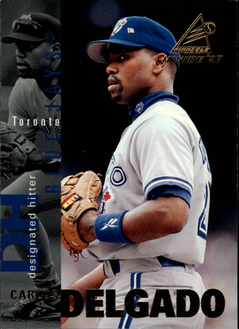 1997 Pinnacle Inside #90 Carlos Delgado