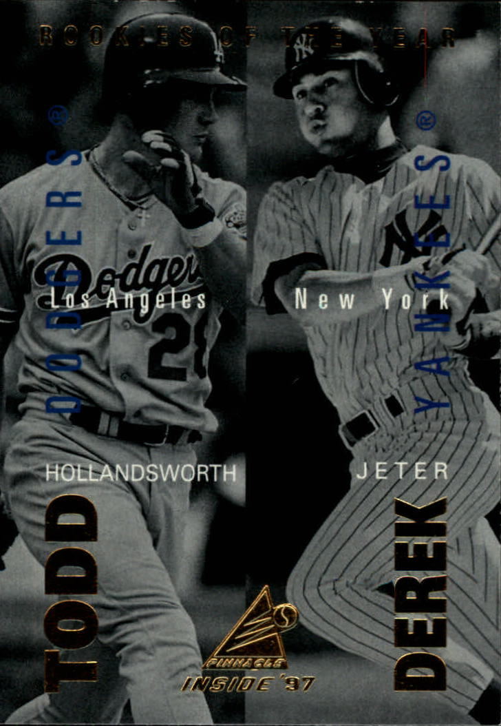 1997 Pinnacle Inside #148 D.Jeter/T.Hollandsworth CL