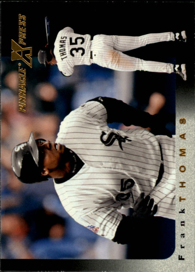 1997 Pinnacle X-Press #5 Frank Thomas