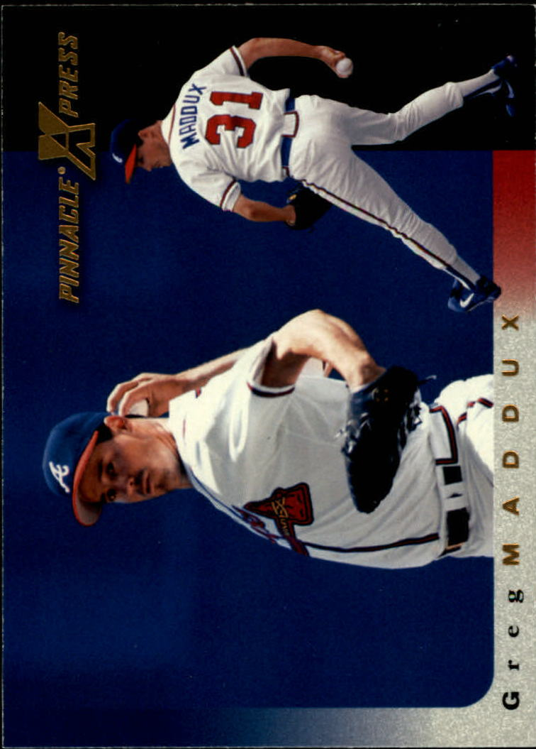 1997 Pinnacle X-Press #9 Greg Maddux