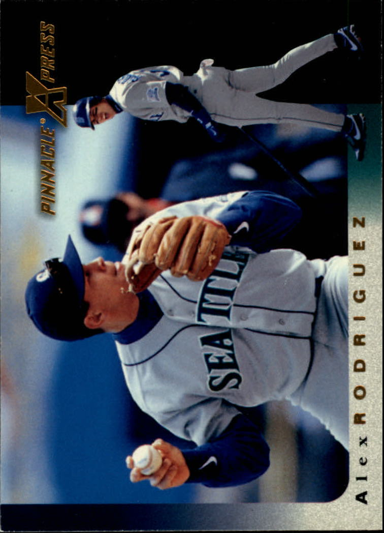 1997 Pinnacle X-Press #15 Alex Rodriguez