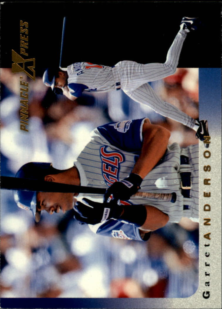 1997 Pinnacle X-Press #26 Garret Anderson