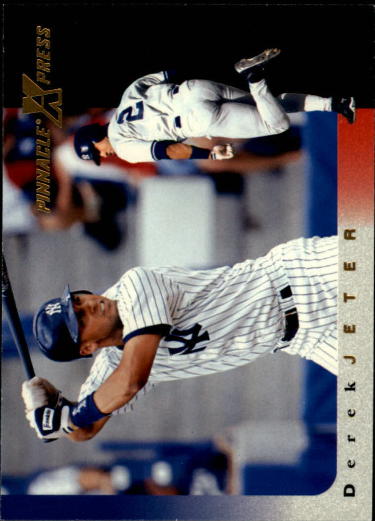 1997 Pinnacle X-Press #32 Derek Jeter