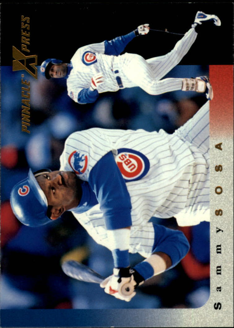 1997 Pinnacle X-Press #73 Sammy Sosa