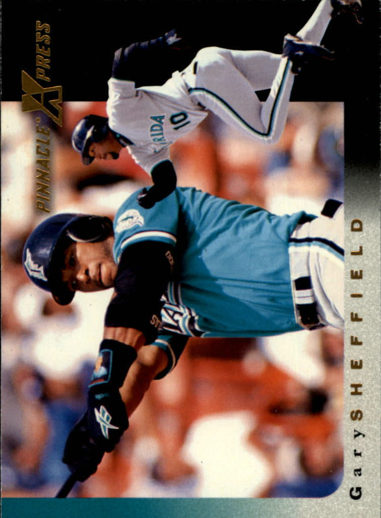 1997 Pinnacle X-Press #80 Gary Sheffield