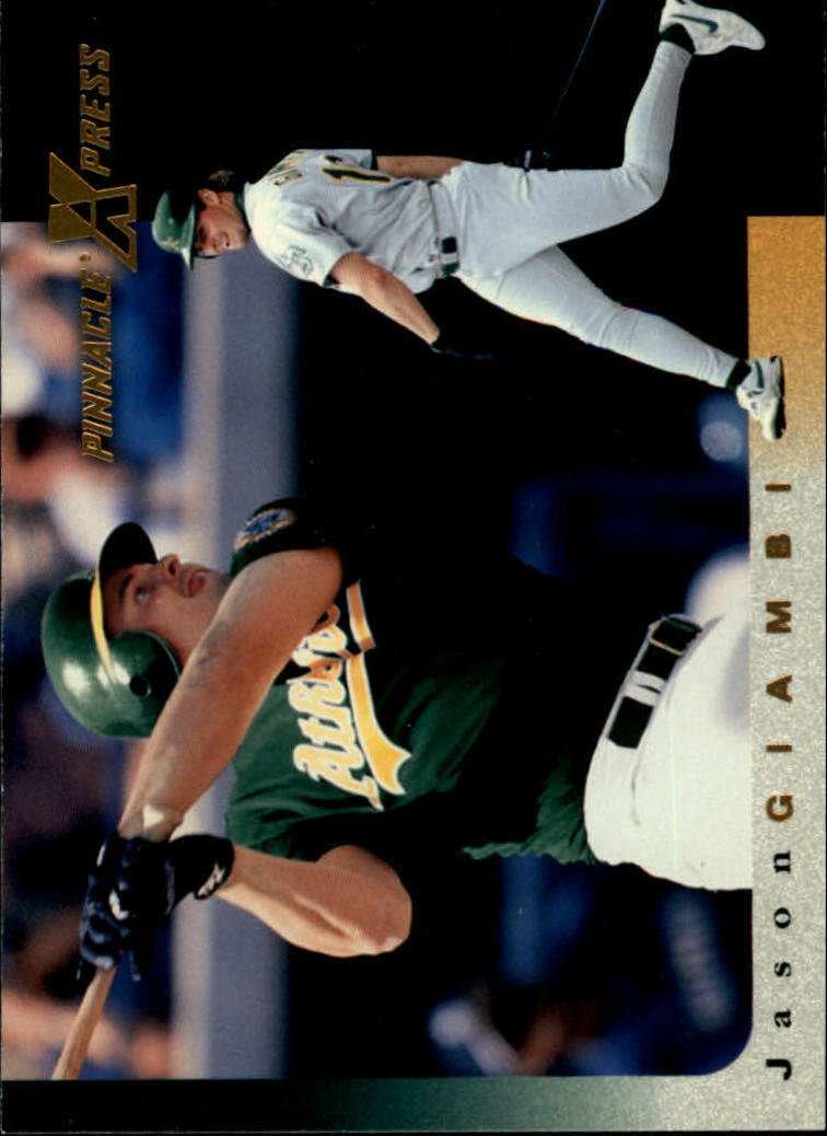1997 Pinnacle X-Press #87 Jason Giambi