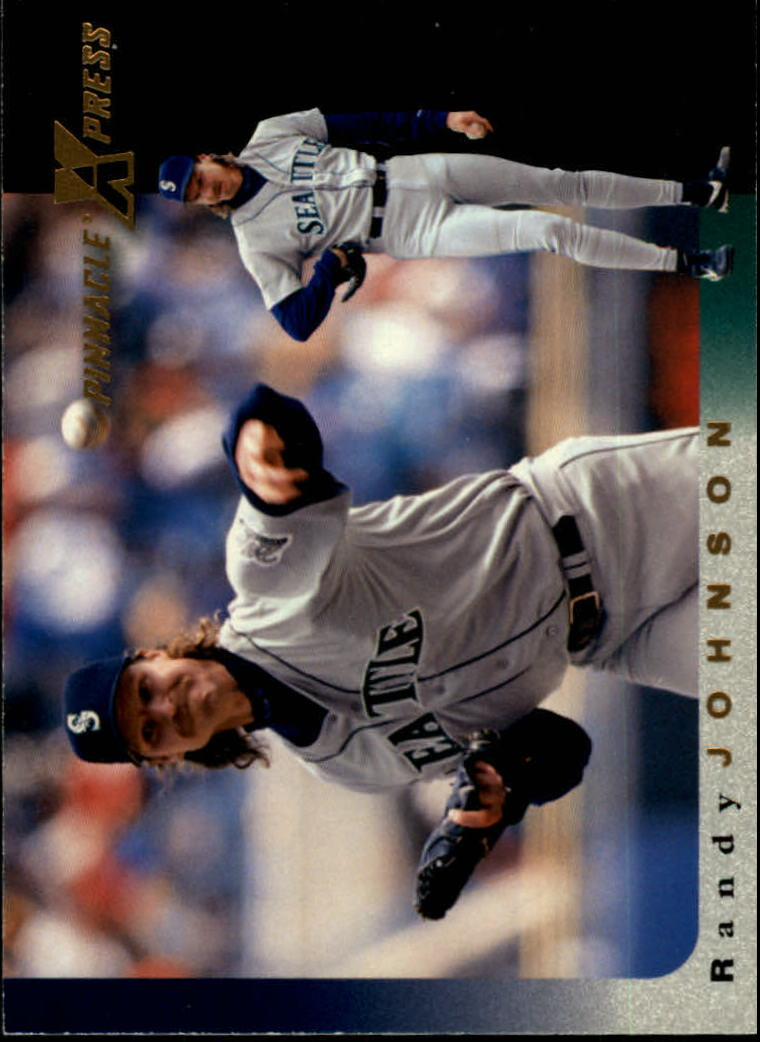 1997 Pinnacle X-Press #96 Randy Johnson