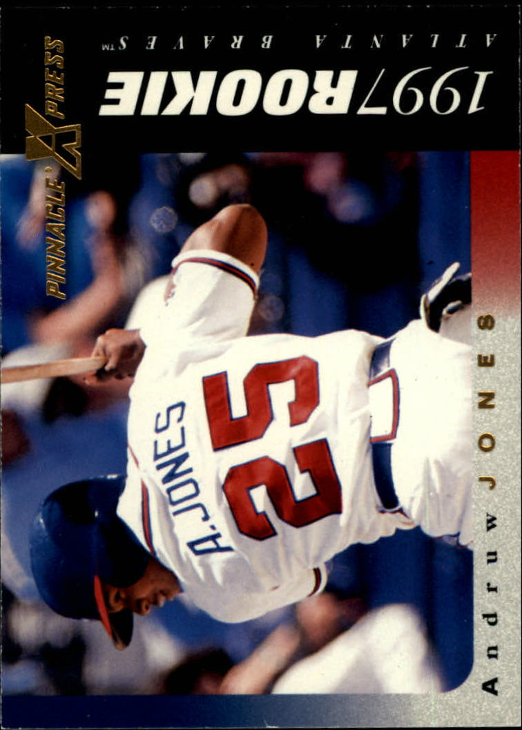 1997 Pinnacle X-Press #116 Andruw Jones