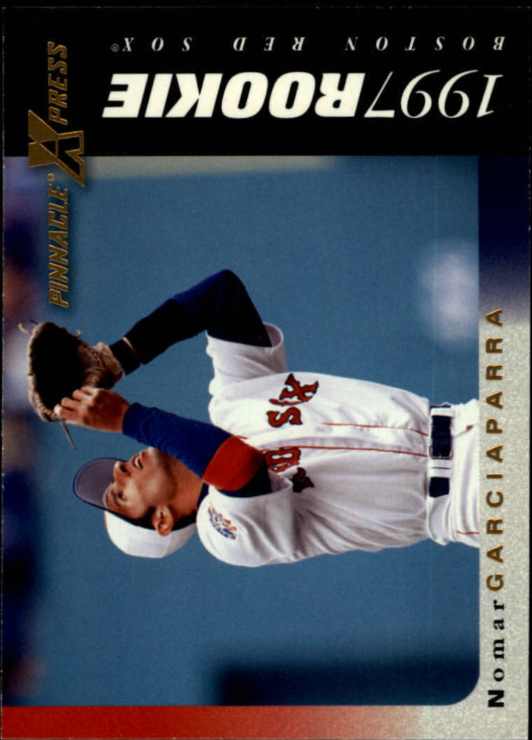 1997 Pinnacle X-Press #117 Nomar Garciaparra