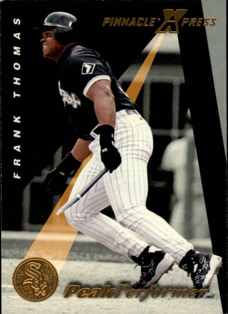 1997 Pinnacle X-Press #140 Frank Thomas PP