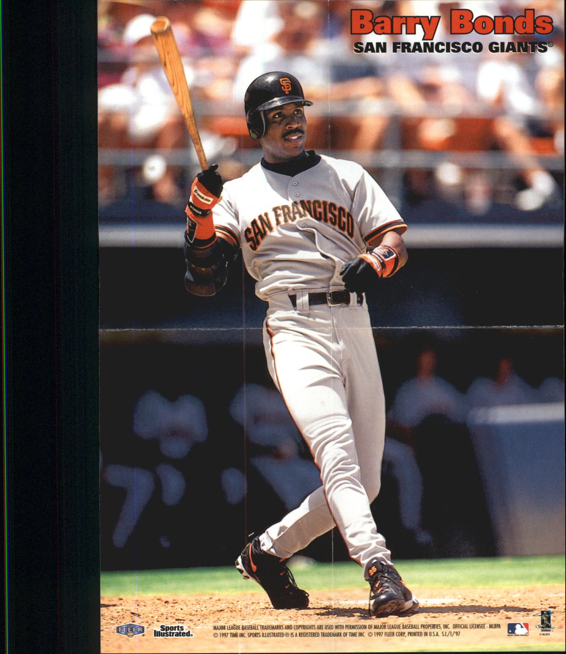 1997 Sports Illustrated Great Shots #20 Barry Bonds