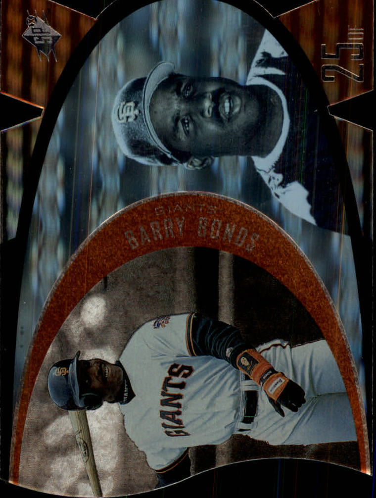 1997 SPx #43 Barry Bonds