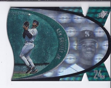 1997 SPx #S45 Ken Griffey Jr. Sample