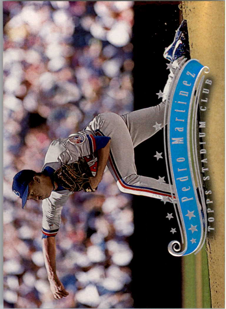 1997 Stadium Club #12 Pedro Martinez