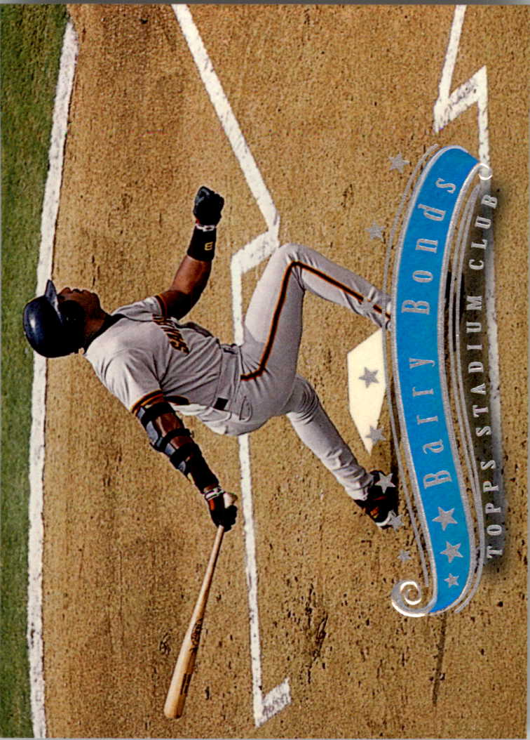 1997 Stadium Club #15 Barry Bonds
