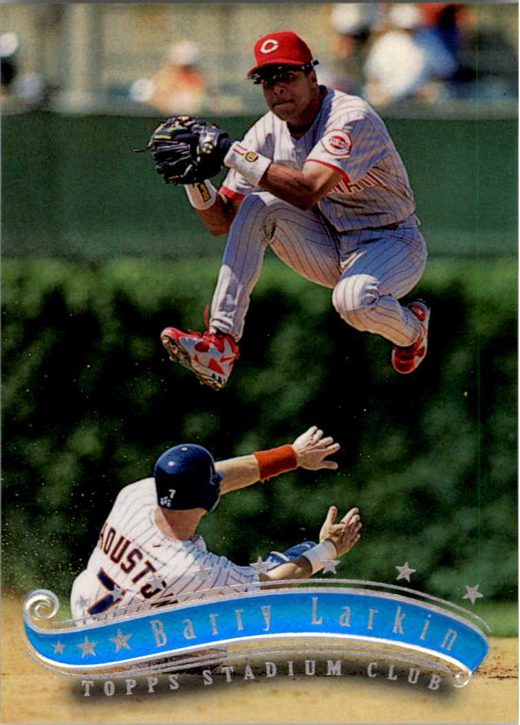 1997 Stadium Club #17 Barry Larkin