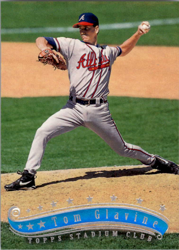 1997 Stadium Club #54 Tom Glavine