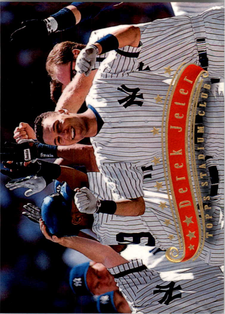 1997 Stadium Club #55 Derek Jeter
