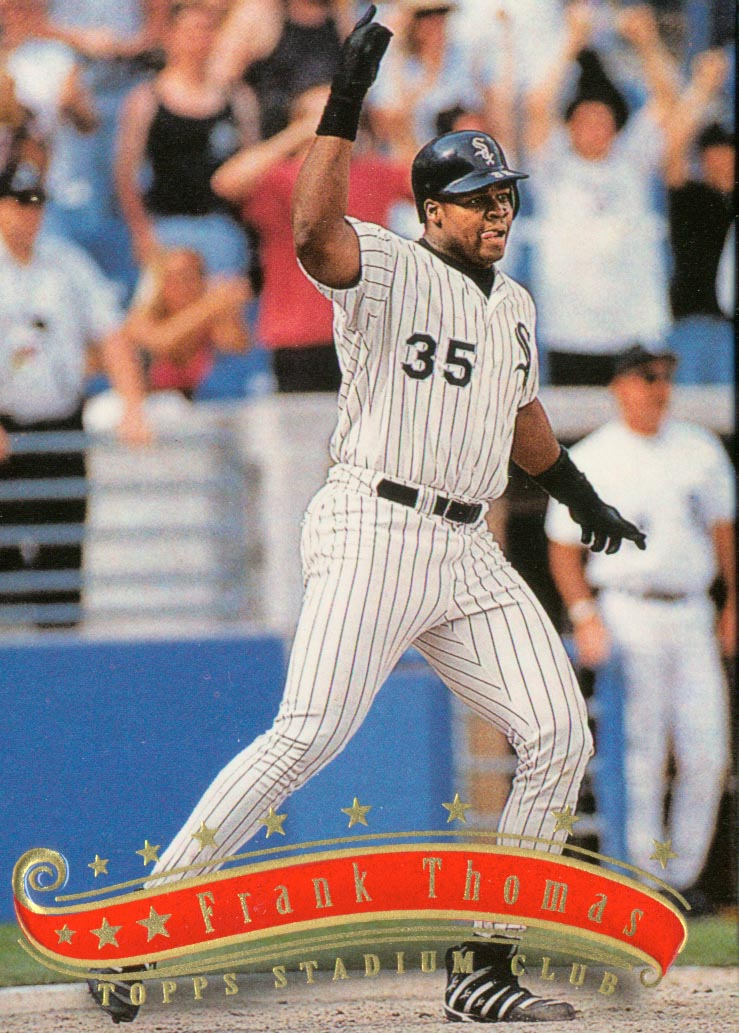 1997 Stadium Club #213 Frank Thomas