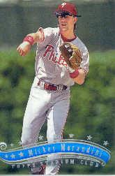 1997 Stadium Club #320 Mickey Morandini
