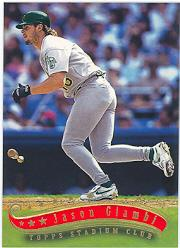 1997 Stadium Club #336 Jason Giambi