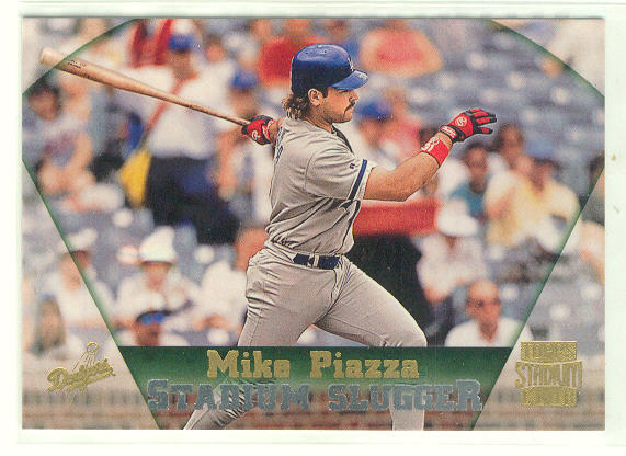 1997 Stadium Club #383 Mike Piazza SS SP