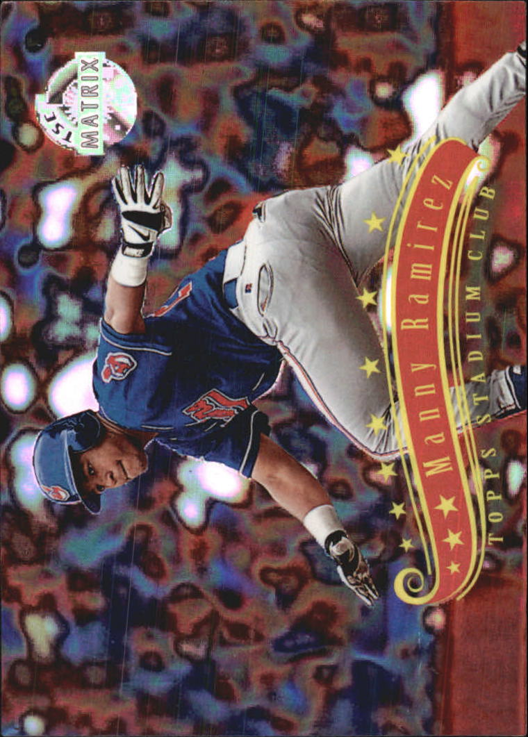 1997 Stadium Club Matrix #244 Manny Ramirez