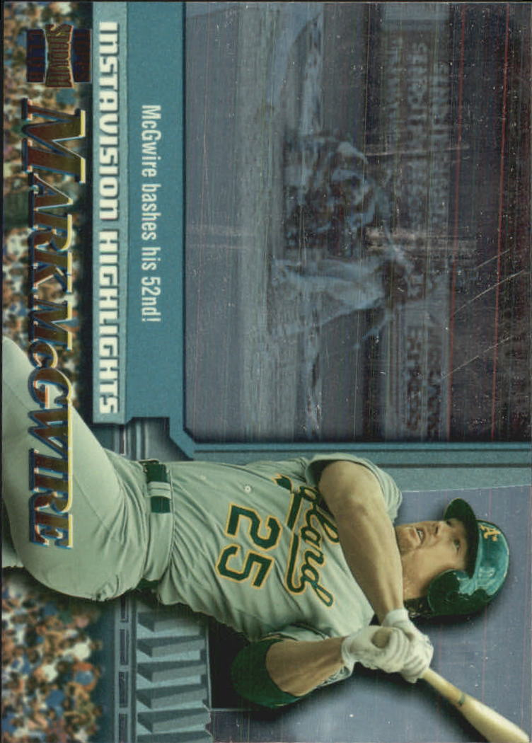 1997 Stadium Club Instavision #I6 Mark McGwire